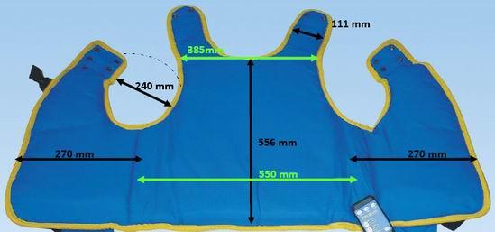 Kamizelka oscylacyjna Vibra Vest rozmiar M