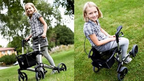 Rollator Router chodzik dla dzieci i młodzieży