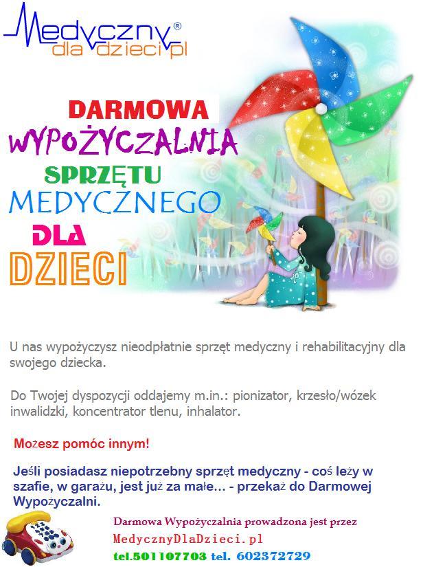darmowa wypożyczalnia sprzętu medycznego Wrocław