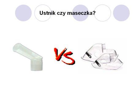 maseczka vs ustnik