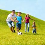zabawa dzieci rodzice ćwiczenia