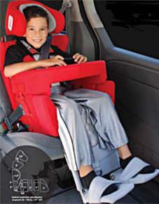 Carrot – fotelik samochodowy dla niepełnosprawnych