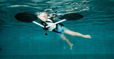 Krabat Pirat sprzęt pływający dla dziecka z niepełnosprawnością
