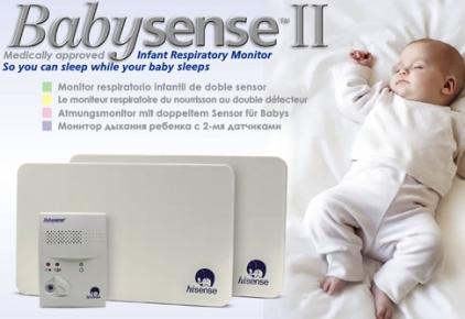 Babysense monitor oddechu medyczny