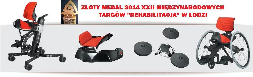 system Krabat złoty medal rehabilitacja
