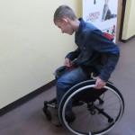 krabat sheriff wózek rehabilitacyjny siedzisko siodłowe